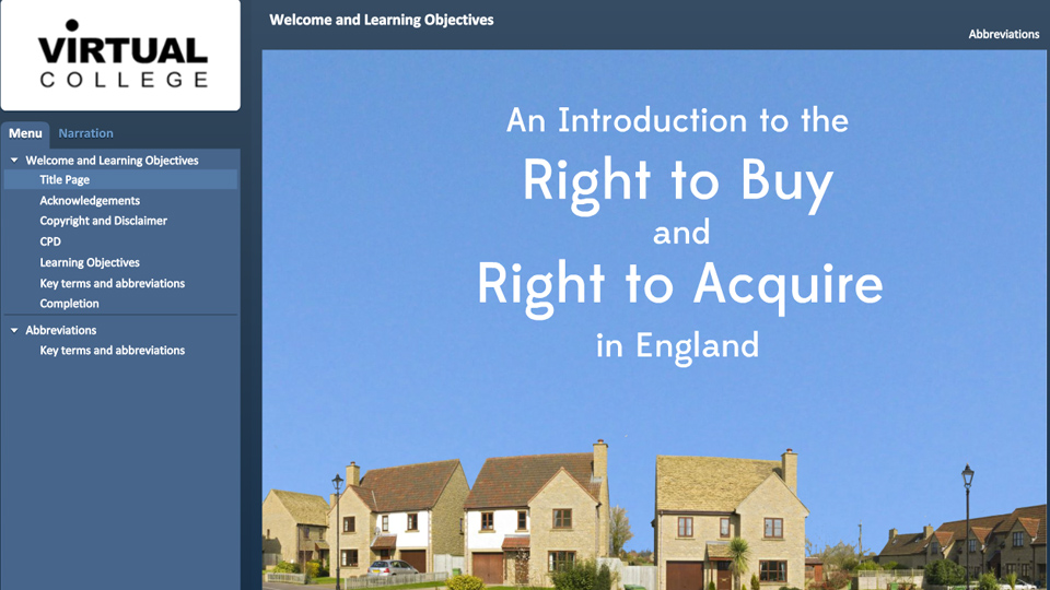 An Introduction to the Right to Buy and Right to Acquire in England