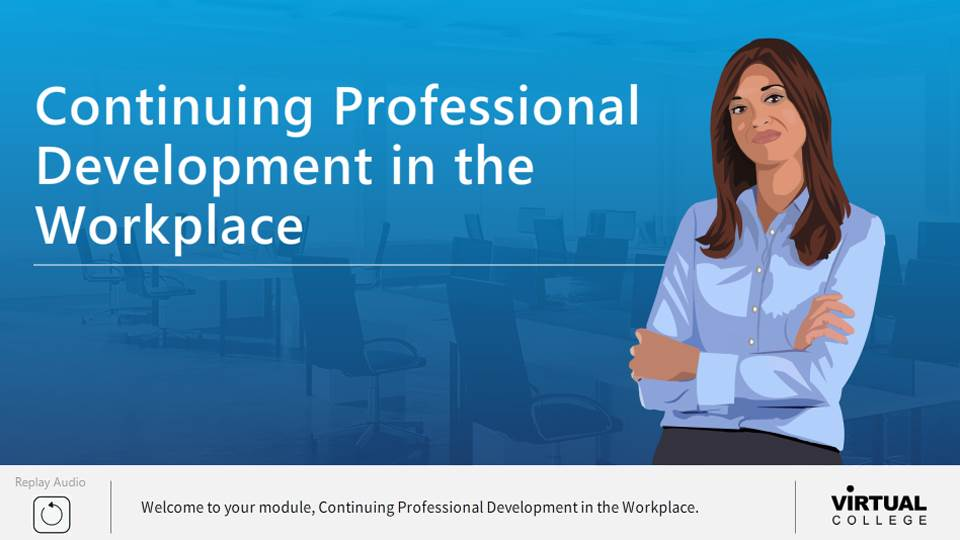 Continuing PD in the workplace