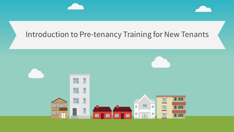 Pre-tenancy training course for new tenants