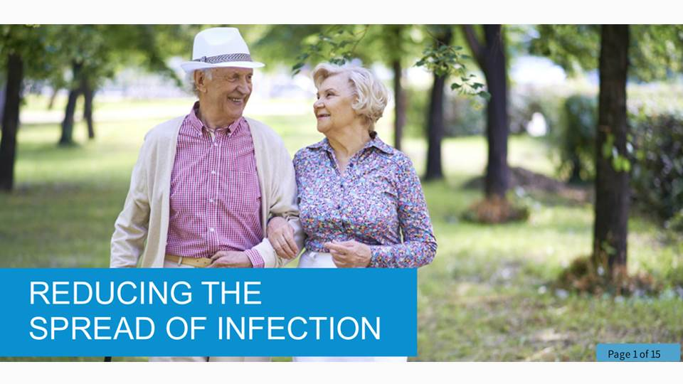 Reducing the Spread of Infection