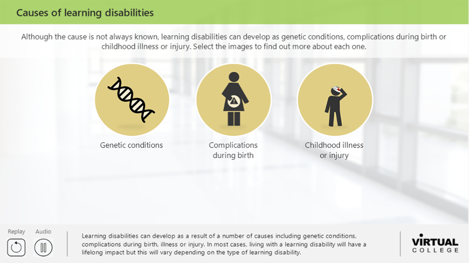 Causes of learning disabilities
