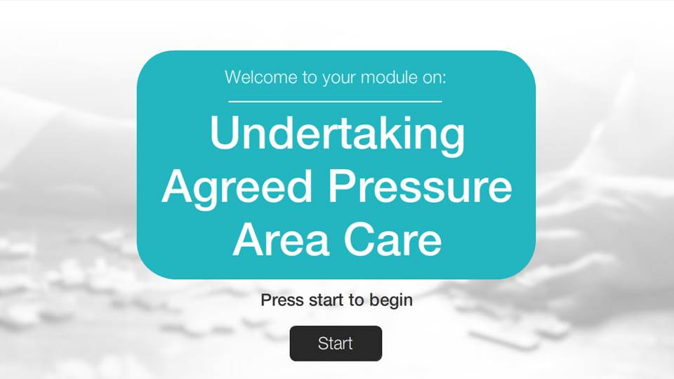 Undertake agreed pressure area care