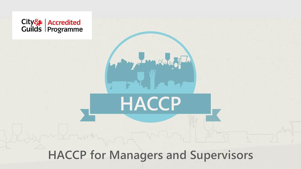 HACCP for Managers and Supervisors