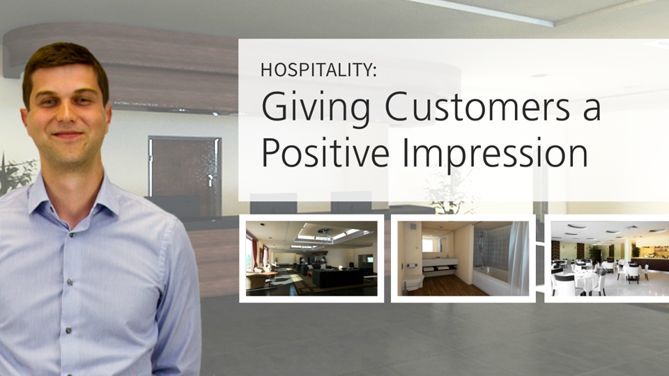 Hospitality Suite: Giving Customers a Positive Impression