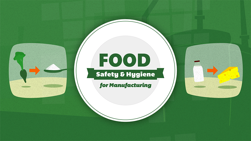 Level 2 Food Hygiene Training Course For Manufacturing