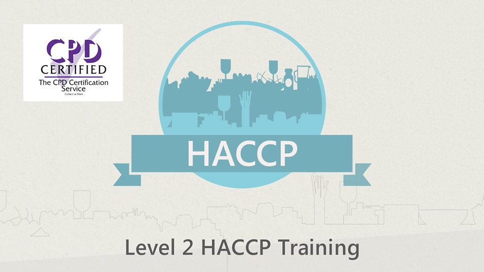 Level 2 HACCP course