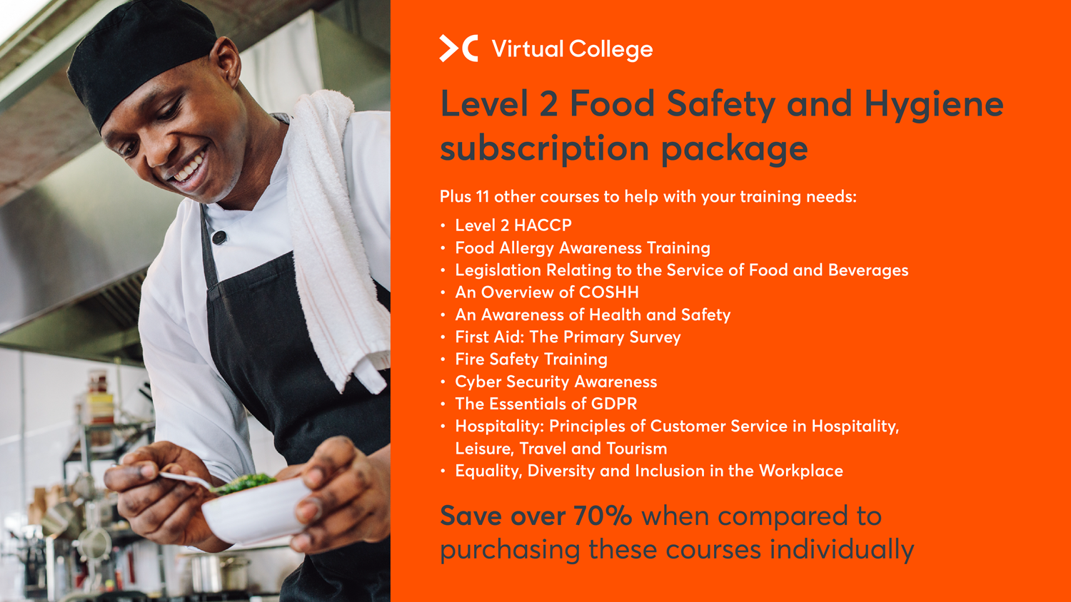 Level 2 Food Safety & Hygiene Course Package
