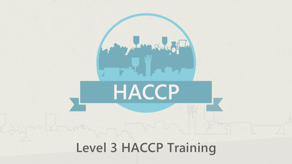 Level 3 HACCP Training Course