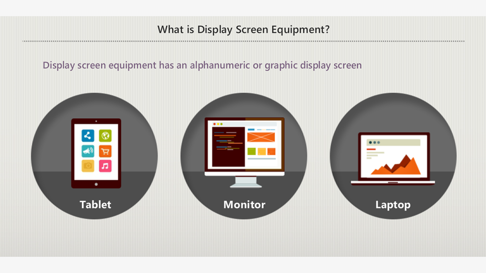 An Introduction to Display Screen and Workstation Assessment