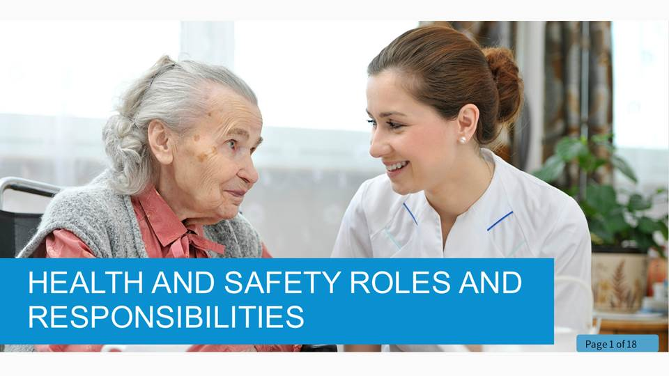 Health and Safety Roles and Responsibilities in Health and Social Care