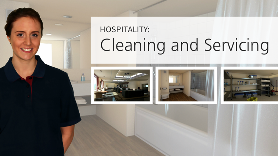 Hospitality: Cleaning and Servicing