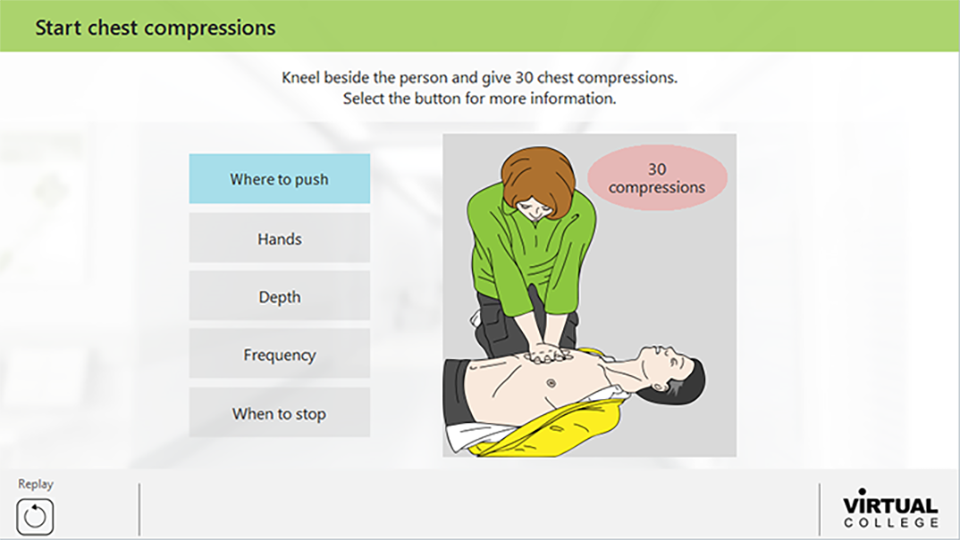 Starting Chest Compressions