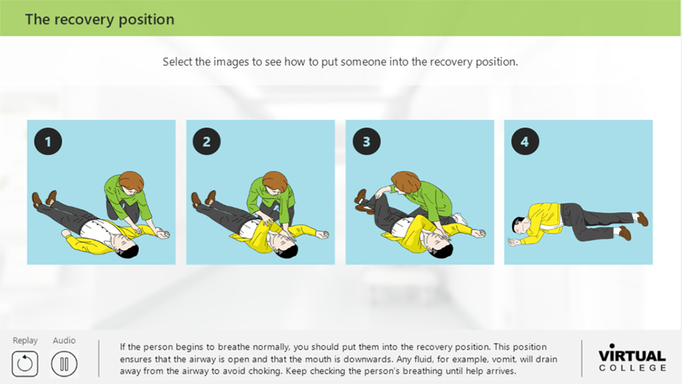 The recovery position