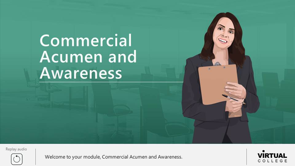 Commercial acumen and awareness