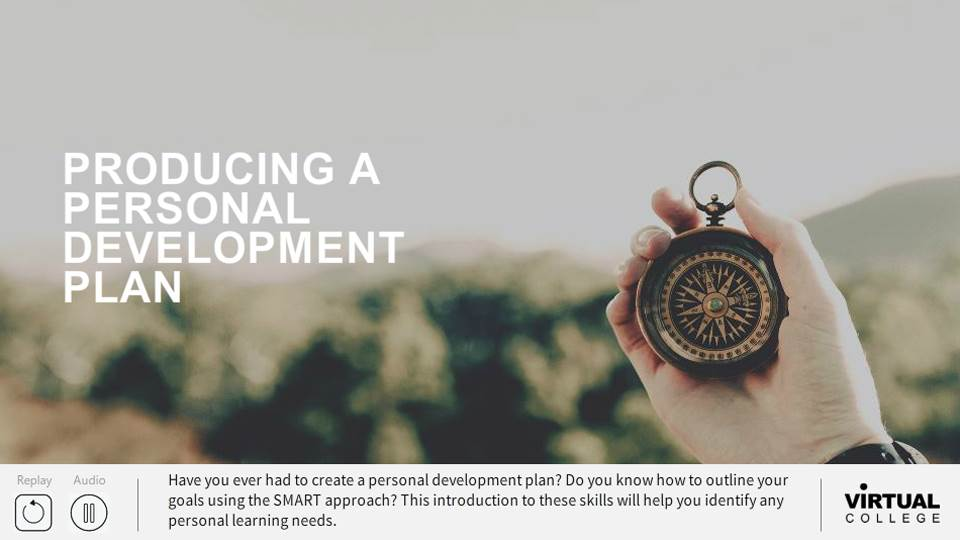 Developing a Personal Development Plan