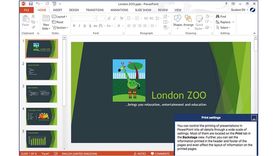 PowerPoint Advanced screenshot