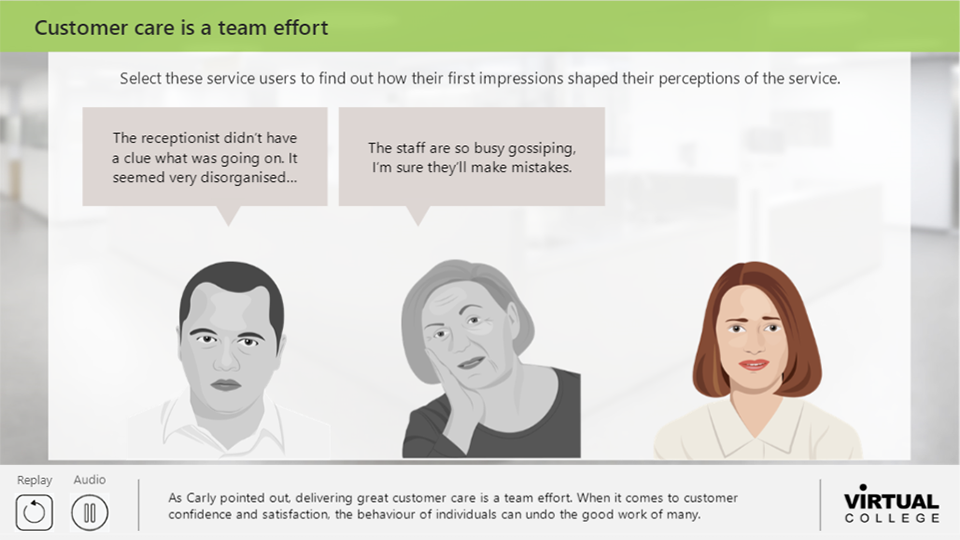 Customer Care is a Team Effort