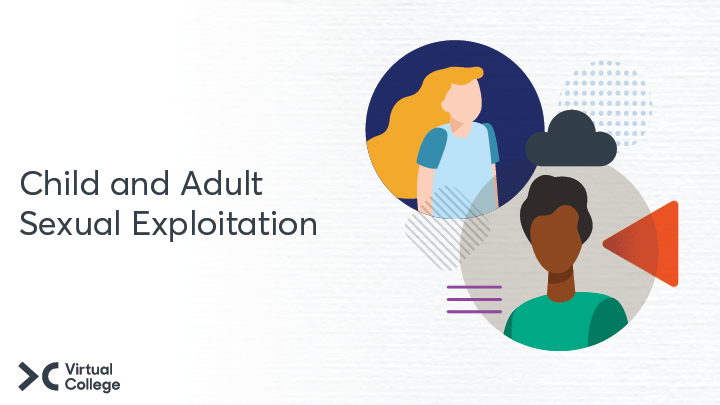 Child and Adult sexual exploitation course image