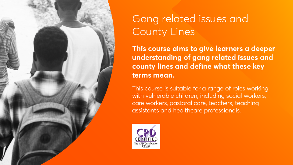 Gang related issues key information image
