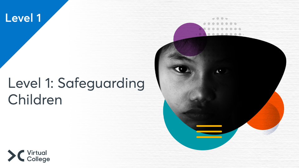 Level 1 Safeguarding Children Title image