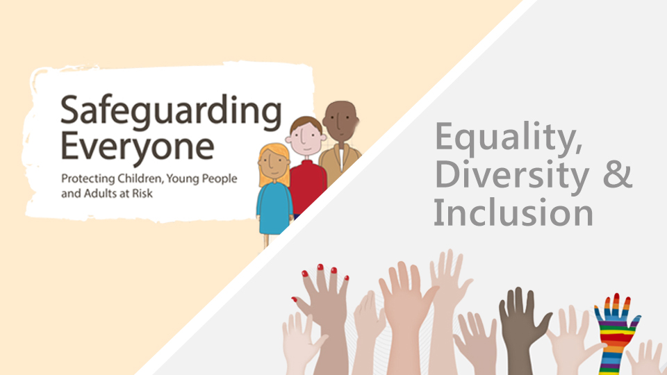 Safeguarding Everyone and Equality, Diversity and Inclusion in the Workplace