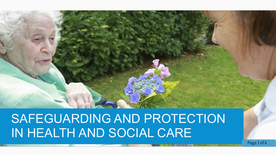 Safeguarding in Health and Social Care