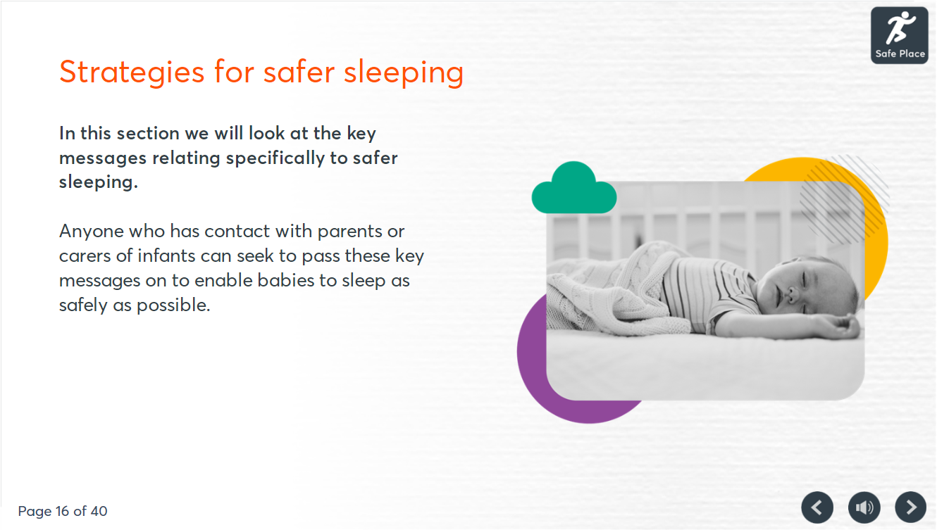 Safer sleeping screenshot 1