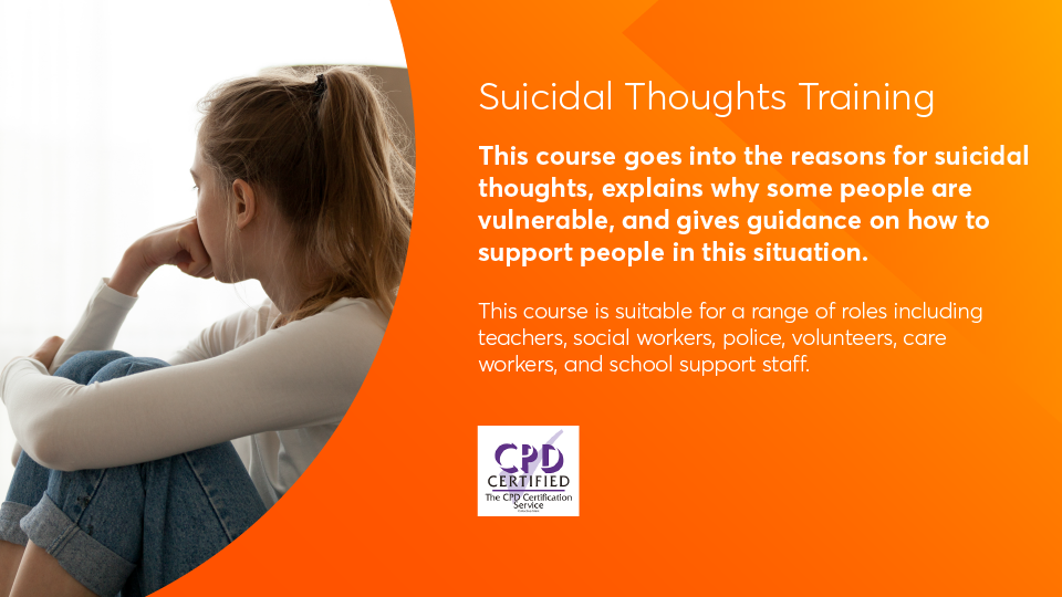 Suicidal thoughts key information image