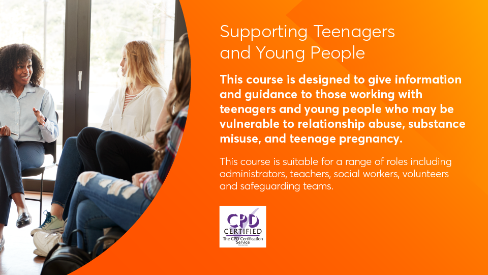 supporting teenager key information