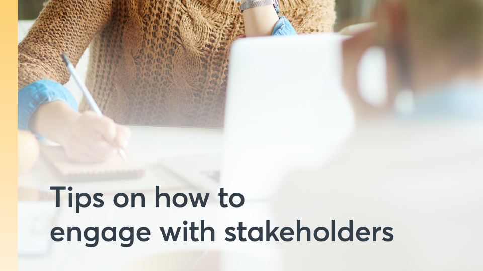 Thumbnail for TIps to engage stakeholders