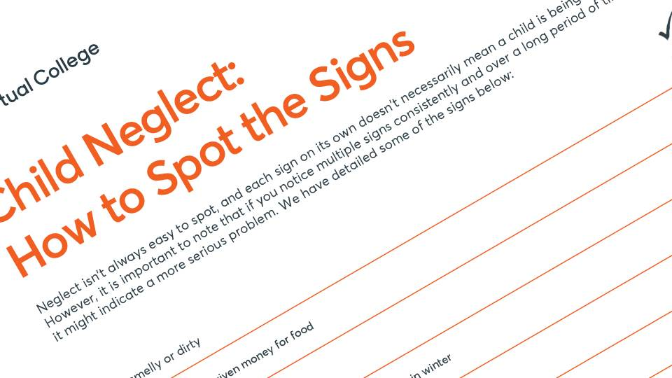 Child Neglect: how to spot the signs
