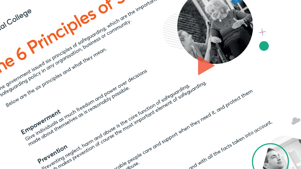 The 6 principles of Safeguarding preview image