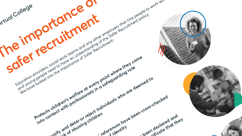 The importance of safer recruitment preview image