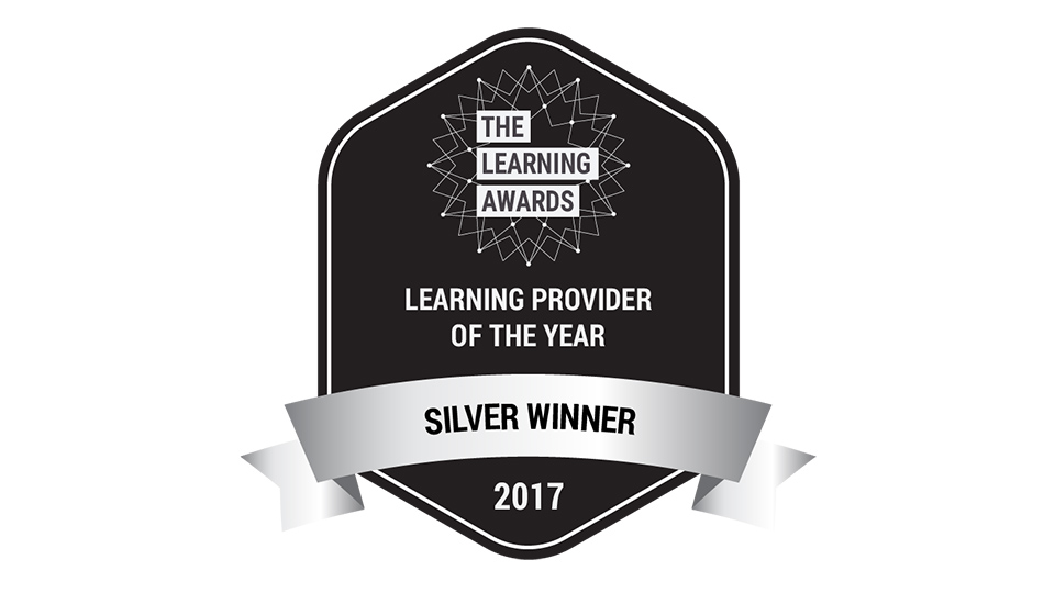 Learning Provider of the year 2017 Silver Award