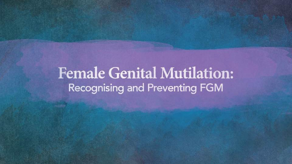 Recognising and Preventing FGM front course screen