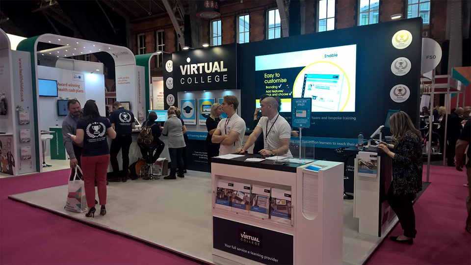 Virtual College CIPD Exhibition 2016