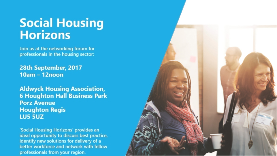 Social housing horizons event