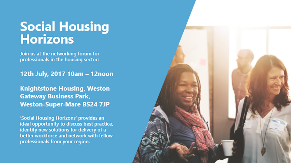 Virtual College will be speaking at the Social Housing Horizons