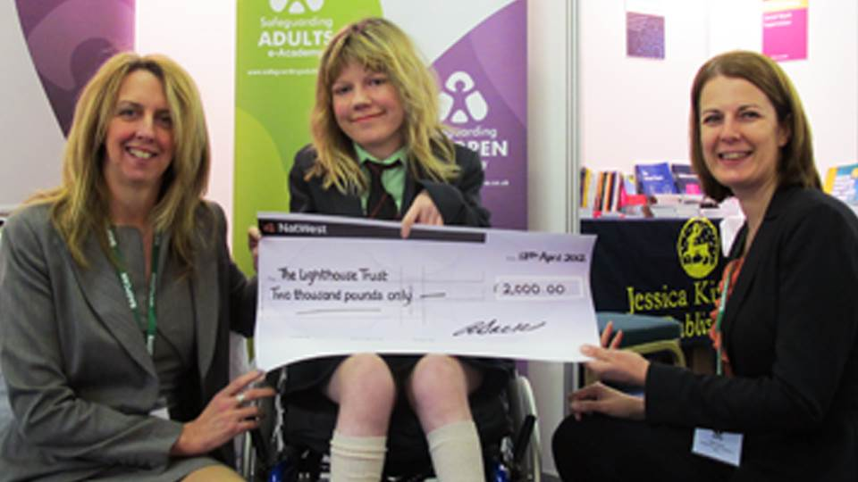 £2000 donation helps Lighthouse Trust Summer School subsidise places for children with cerebral palsy