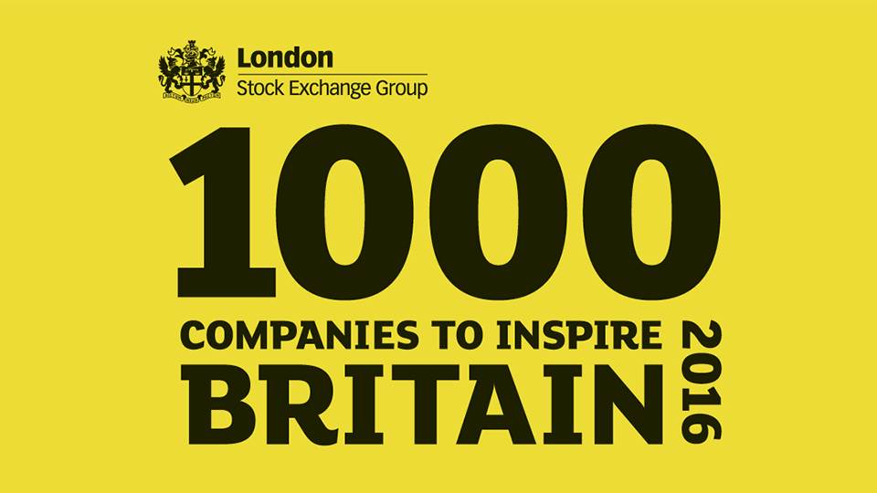 1000 Companies to Inspire Britain logo