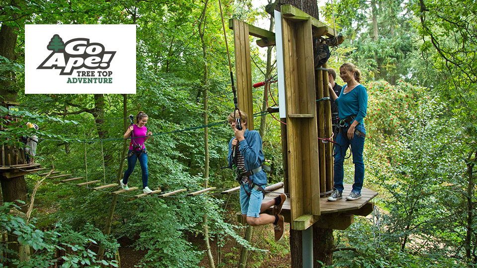 go ape front image with logo