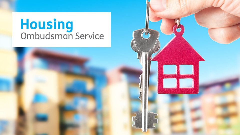 house key with housing ombudsman logo