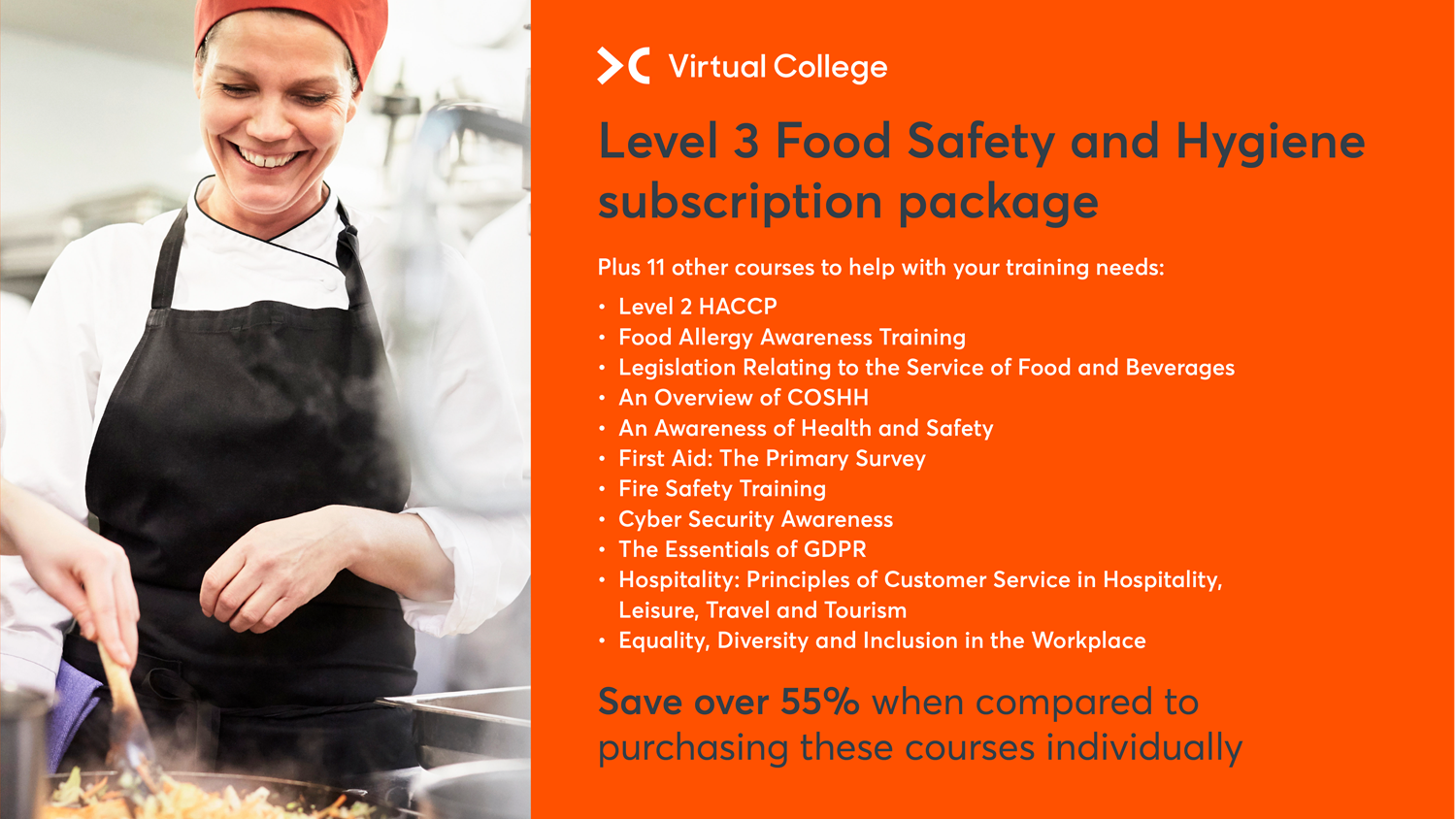 Level 3 Food Safety & Hygiene Course Package