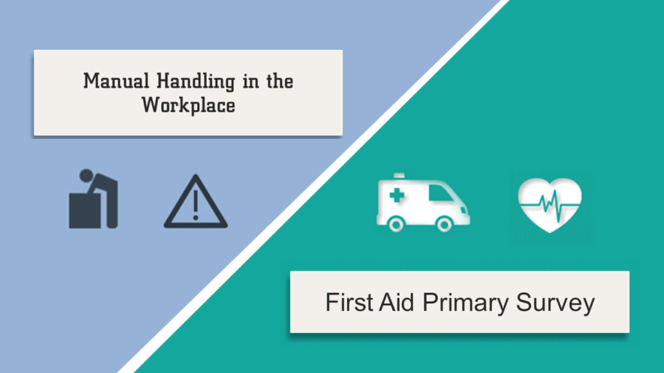 Manual Handling and First Aid