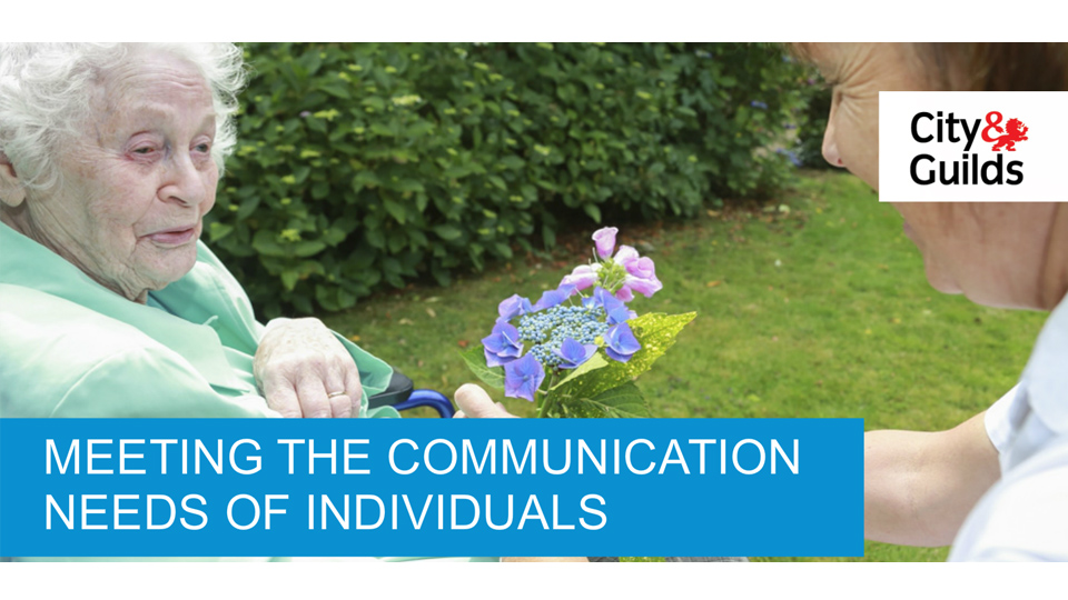 Meeting the Communication Needs of Individuals