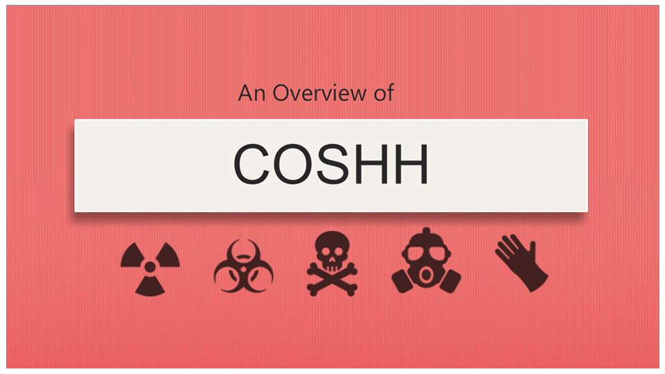 An Overview of COSHH course