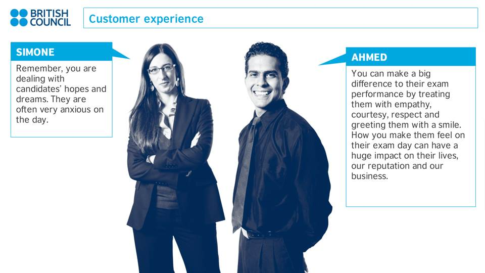 British Council customer experience