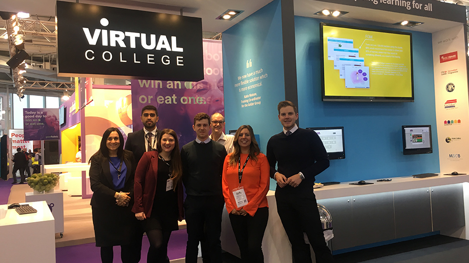 This Year At Learning Technologies 2018 We Virtual College Noted A Significant Shift In The Type Of Conversations And Personnel Approaching Our Stand