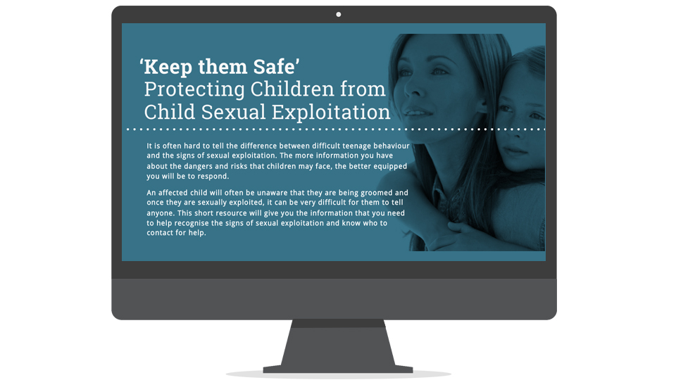Free course for child exploitation