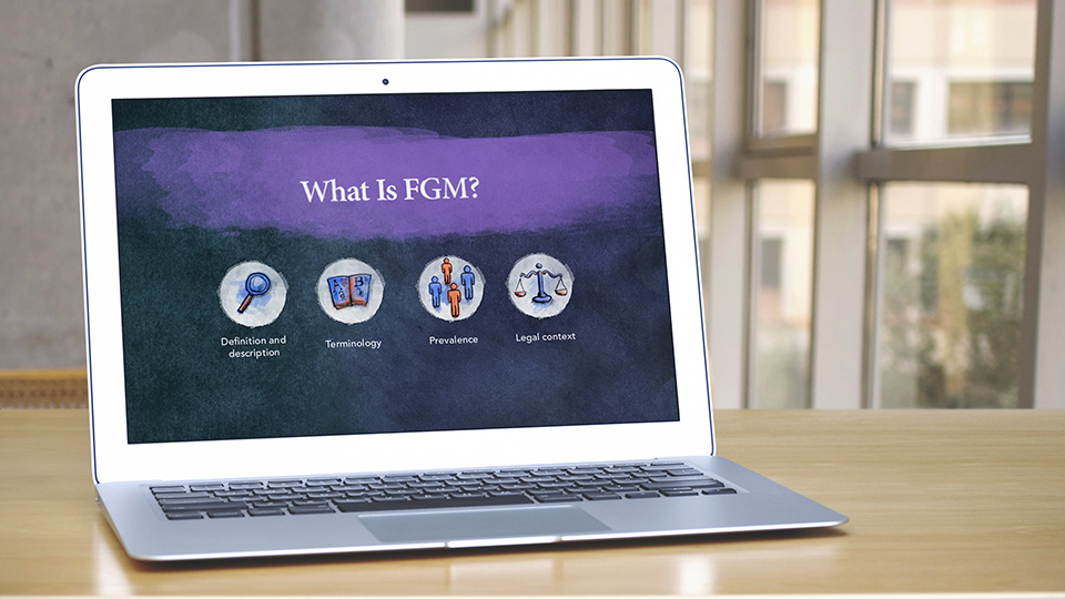 Home office intensifies fight against FGM with online training